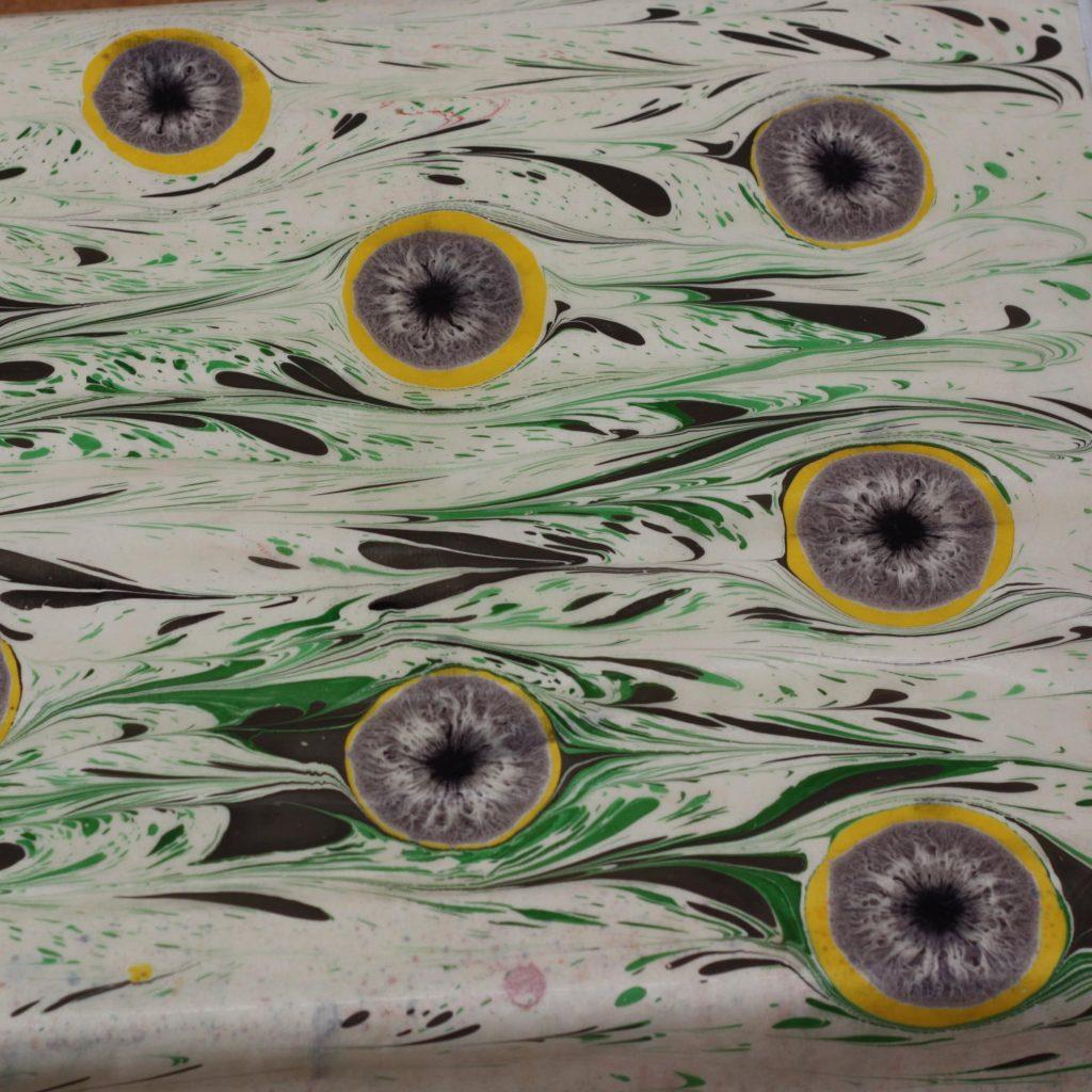 Oeil de Chat ou Oeil de Tigre marbé Vert Jaune