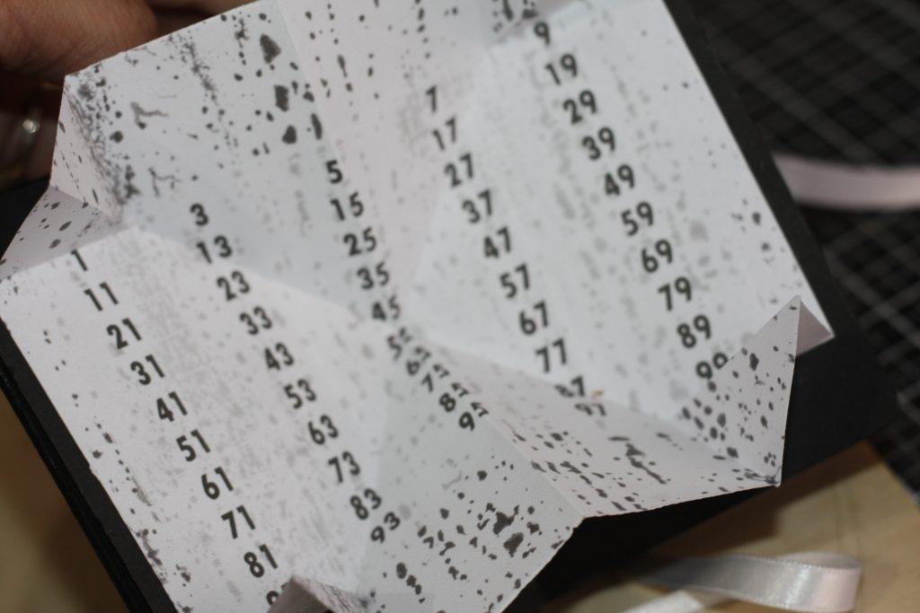 """Pages pliées en """"carte turque"""""""