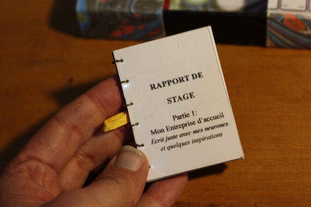 Rapport de stage miniature