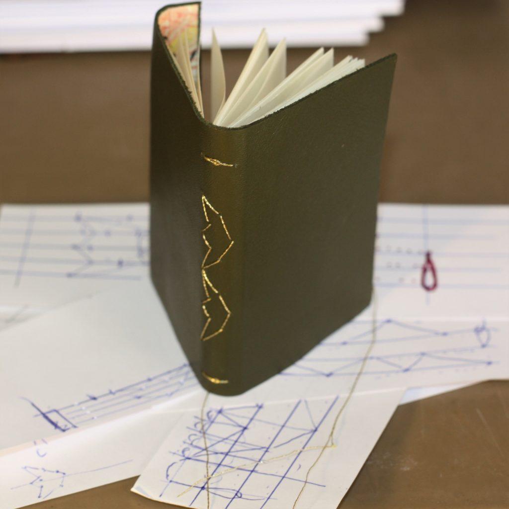 Reliure Carnet Cuir - Miniature