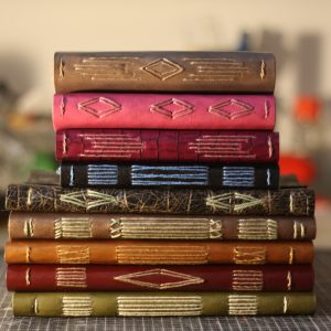 LongStitch Binding carnets de voyage