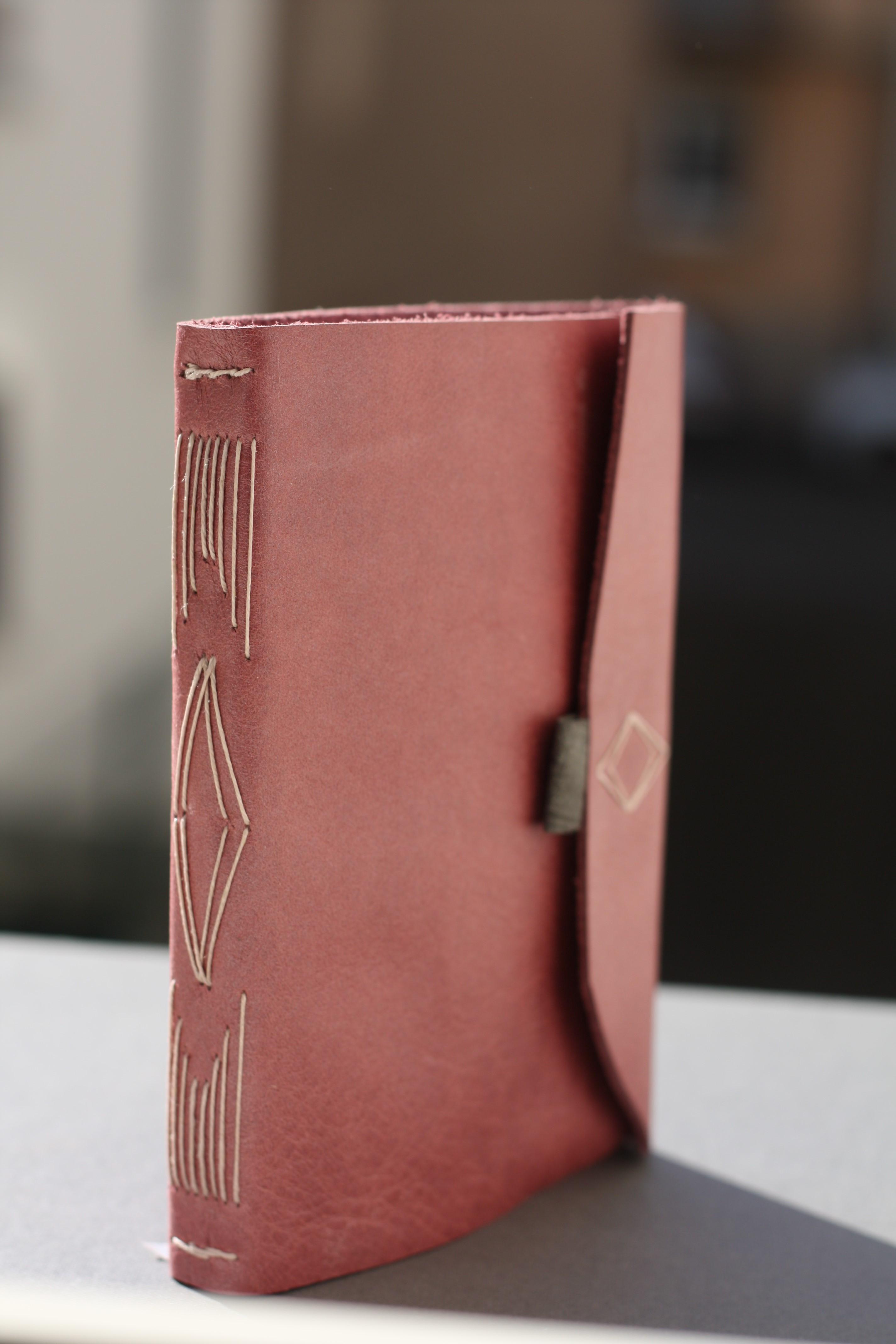 Agenda reliure souple cuir (non amovible)