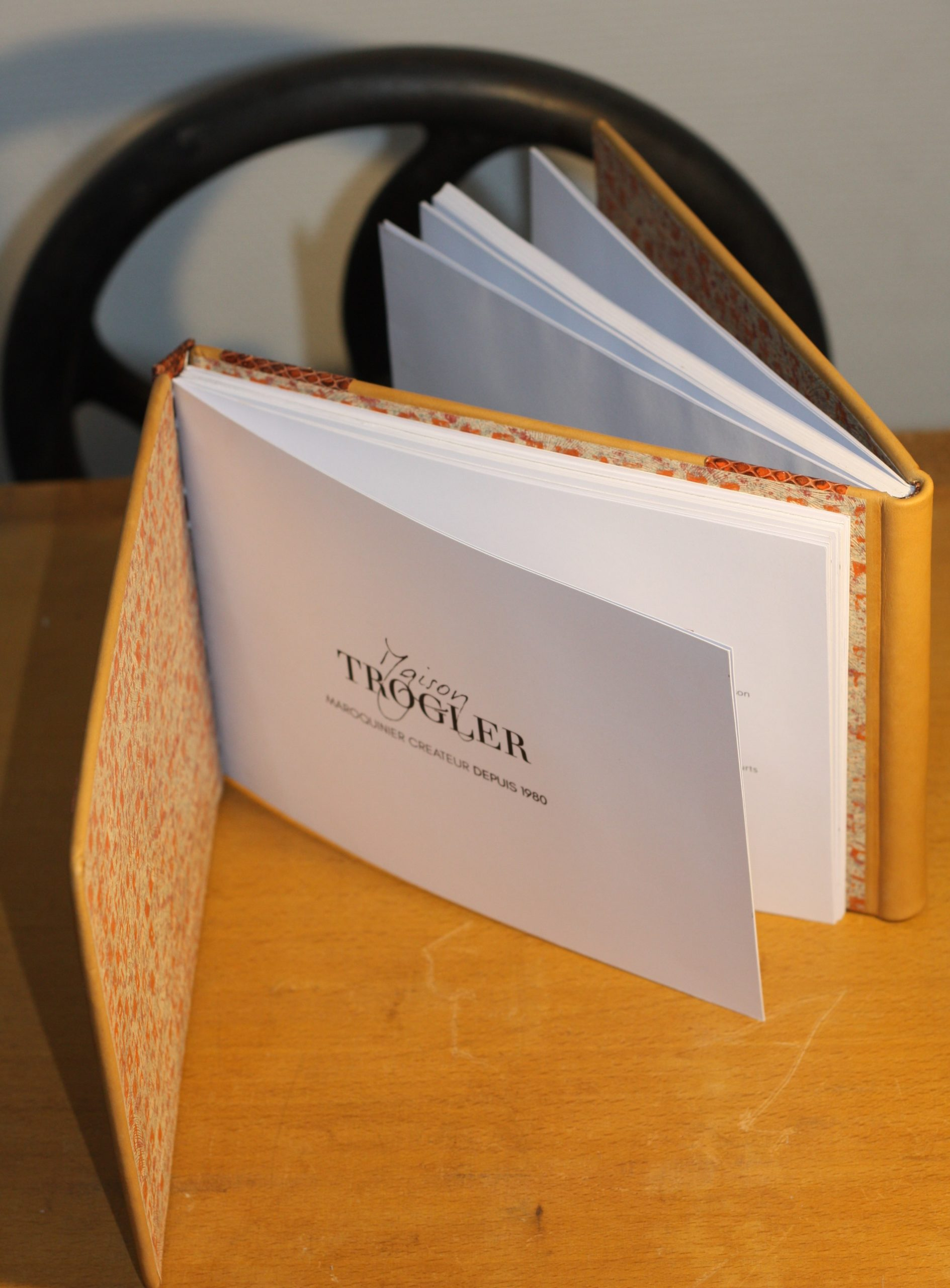 Reliure Dos a Dos Book et Livre d'Or
